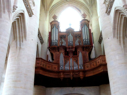 L'orgue (XVIIIè siècle)