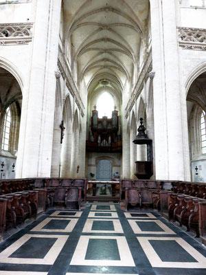 Les stalles du choeur (XVIIè siècle)