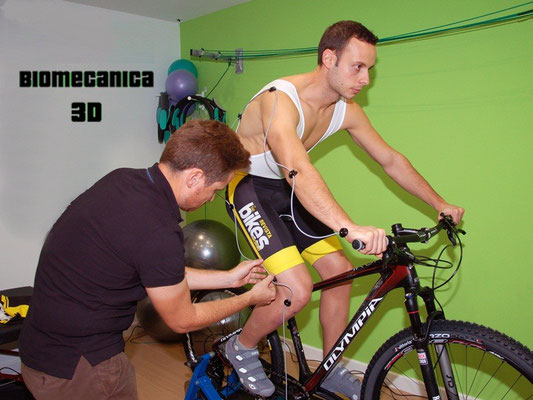 Estudio biomecanico ciclismo madrid