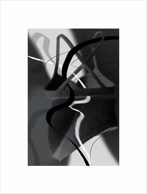 Ohne Titel_SL03aSW, 2019, pigmentierte Tinte auf Fine Art Papier, 42x33 cm