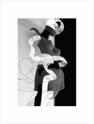 Ohne Titel_SL23aSW, 2019, pigmentierte Tinte auf Fine Art Papier, 42x33 cm