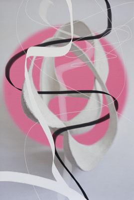 Ohne Titel_SL02b, 2019, pigmentierte Tinte auf Canvas, kaschiert auf Aludibond, 60x40 cm