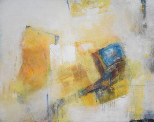 Giallo, Acryl, 80x100