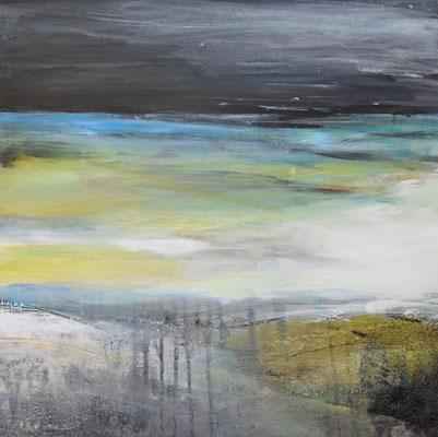 Horizont nero, 50x50