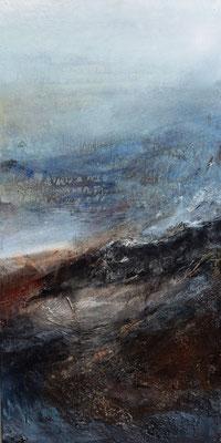 Horizont im Nebel, 50x100