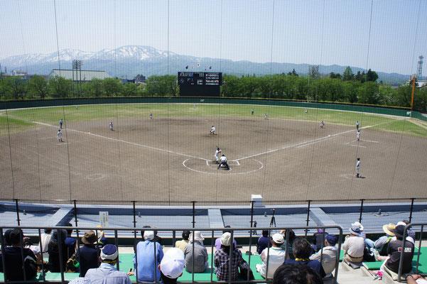 5年ぶりの高校野球公式戦の開催。