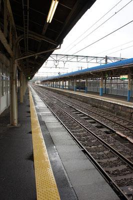 直江津駅の3番線ホーム。「寂しさ」もまた、人生のスパイス