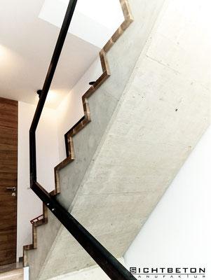 Sanierung Beton Treppe