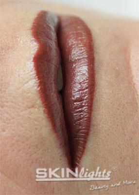Permanent Make-up Lippen permanent geschminkt / © katja junius - skinlights.de
