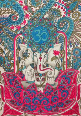 文化と文様シリーズ No.005『ガネーシャ/インド』