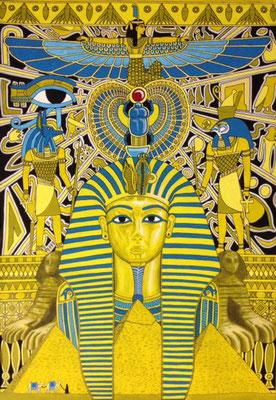 文化と文様シリーズ No.003『ツタンカーメン/エジプト』