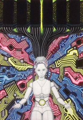 文化と文様シリーズ No.017 『シリコンバレー/AI』