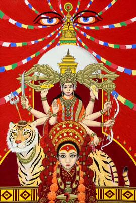 文化と文様シリーズ No.027 『ネパール/クマリ』