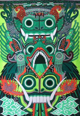 文化と文様シリーズ No.006『ガルーダ、バロン、ランダ/バリ(インドネシア)』