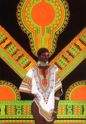 文化と文様シリーズ No.016 『西アフリカ/ダシキ』