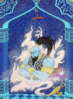 文化と文様シリーズ No.011『ジン/アラビア』