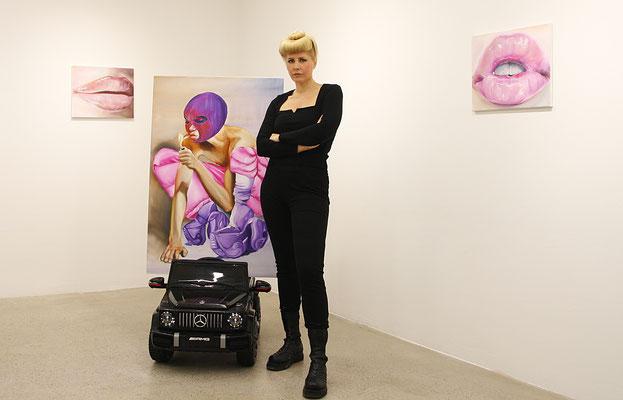 Charlie Stein, Künstlerin, Berlin, kunstStory