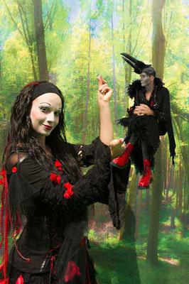Die kleine Hexe · Festspiele Wangen · © Morlok