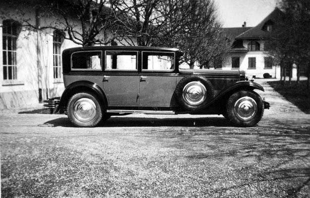 Packard der Familie Wander_1935