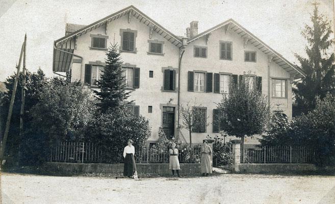 Siedlerhaus beim Bahnhof