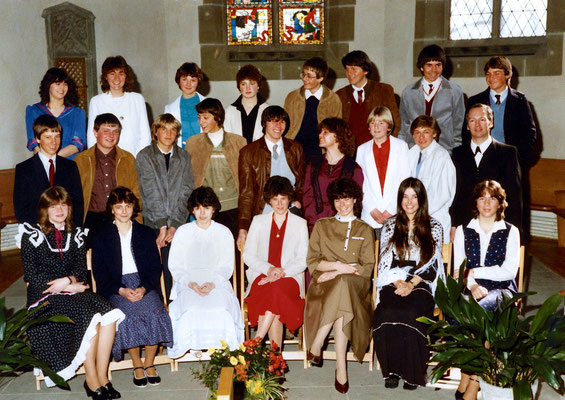 Konfirmation 1982