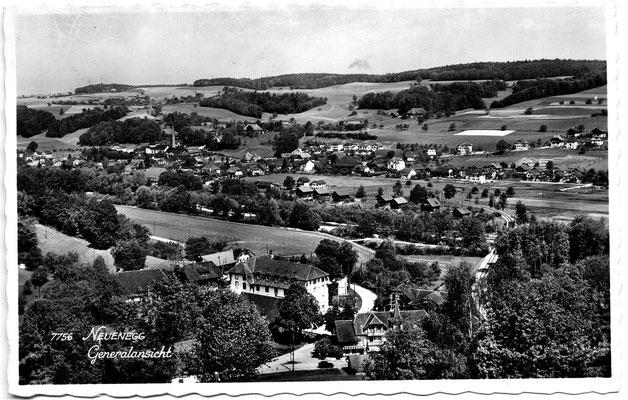 Postkarte von 1947