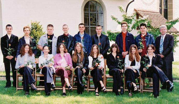 Konfirmation 2001