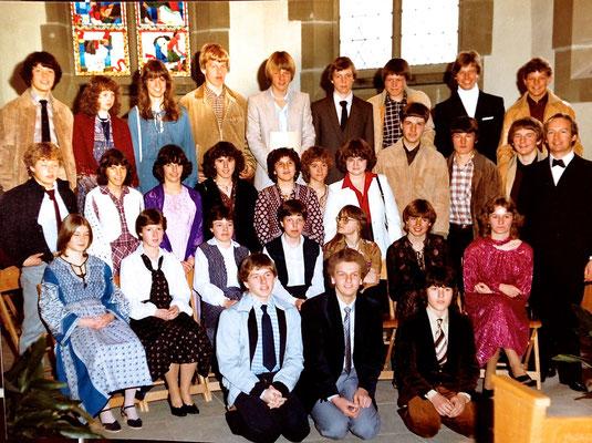Konfirmation 1981