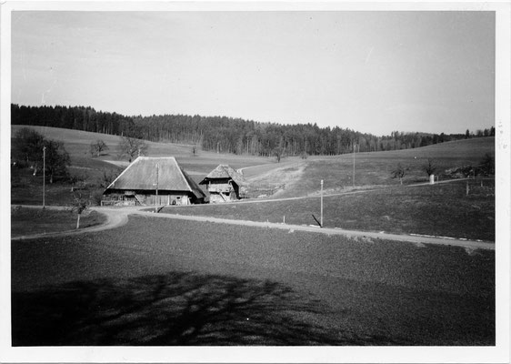 Krummenacherhaus Brüggelbach - abgerissen 1955