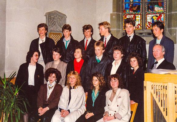 Konfirmation 1987