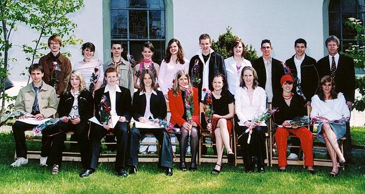Konfirmation - 2004