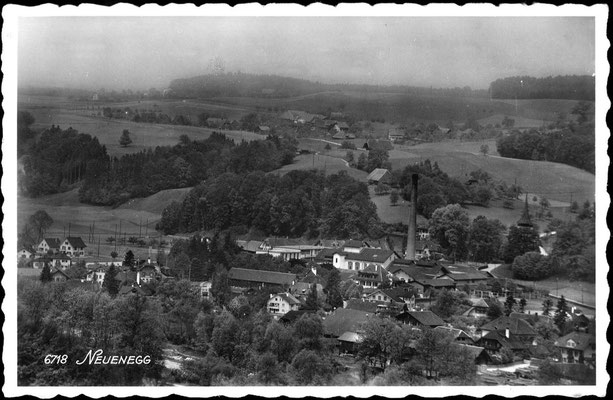 Dorf Neuenegg - vor 1950