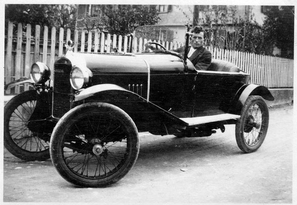 Arnold Mauerhofer Kirchgasse 1928