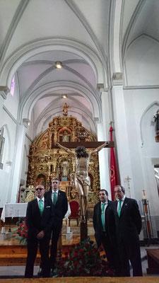 Fiesta del Bendito Cristo de los Afligidos de San Andrés de Astorga 2017