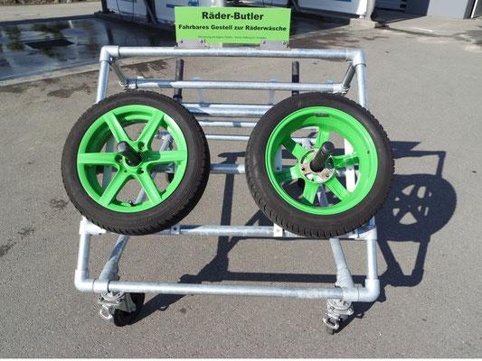 Frontalansicht Räder-Butler