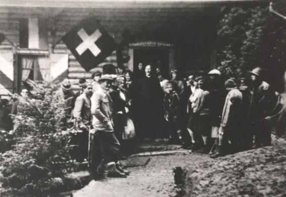 Einweihung der Gibelegg am 31. Mai 1931