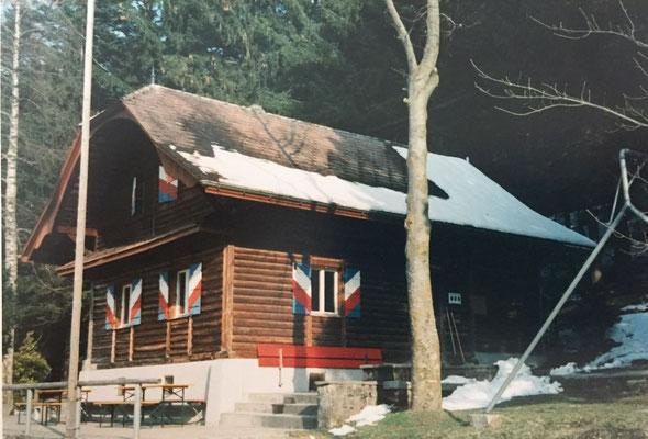 Erneuerung des Daches 1996