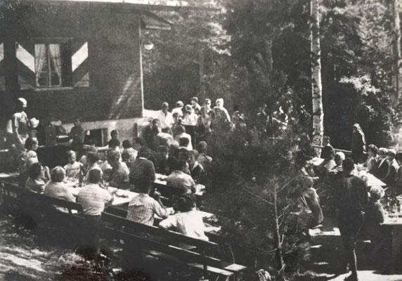 Umbau und Erweiterung der Gibelegg im August 1962