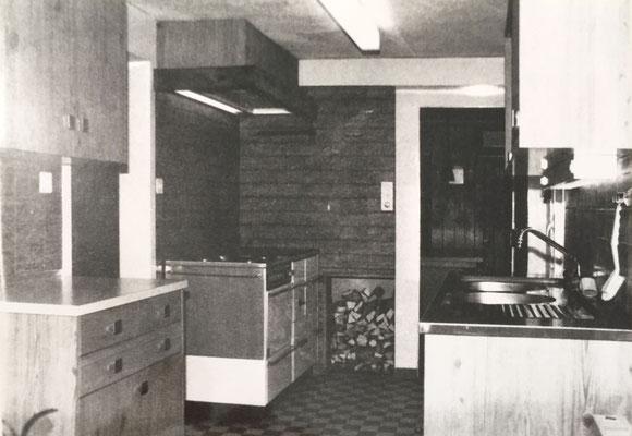 Ausbau der Küche 1978