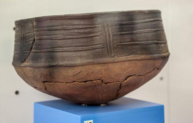 Keramikgefäß der vorspanischen Phase auf La Palma / © Klaus Schindl