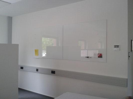 Glasmagnettafel Leuchtendes Weiß (REF 9003)