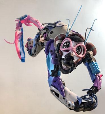 Serie MONOS Ensambles en juguete reciclado