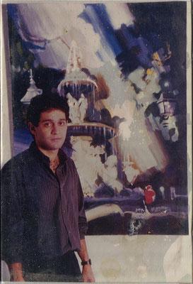 Rafael Espitia 1989 :: 3er Premio concurso de pintura rápida Parque del Buen Retiro. Madrid, España.