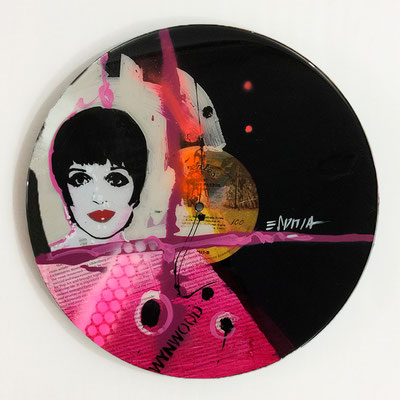 "Vinyl Records ""CELEBRITIES"" serie / LIZA MINNELLI  by ©Rafael Espitia"