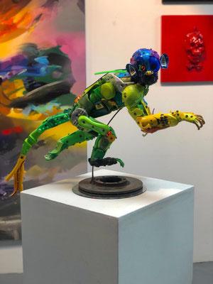 Ensambles MONOS hechos con reciclaje Rafael Espitia ArtEnsambles MONOS hechos con reciclaje Rafael Espitia Art