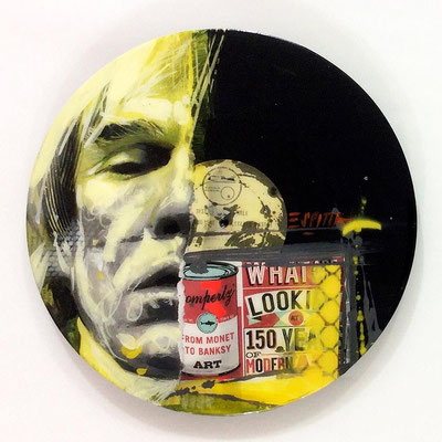 "Vinyl Records ""CELEBRITIES"" serie / ANDY WARHOL  by ©Rafael Espitia"