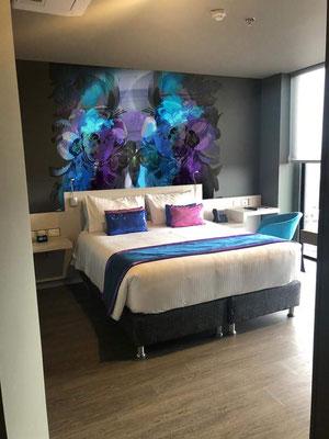 Mural Digital en 3D habitaciones de hotel