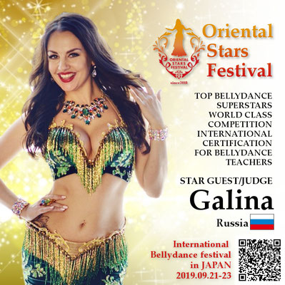 【Oriental Stars Festival】Galina