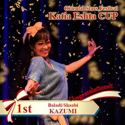 【Katia Eshta Cup】Baladi/Shaabi 1st:KAZUMI