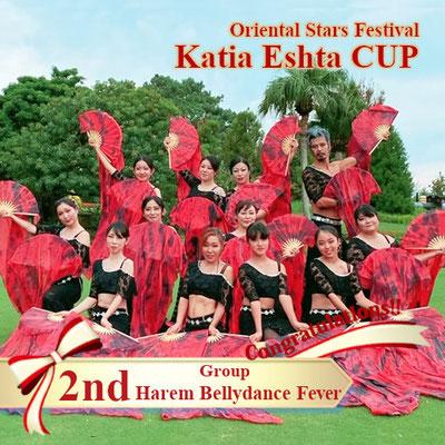 【Katia Eshta Cup】Group 2nd:Harem Bellydance Ferver